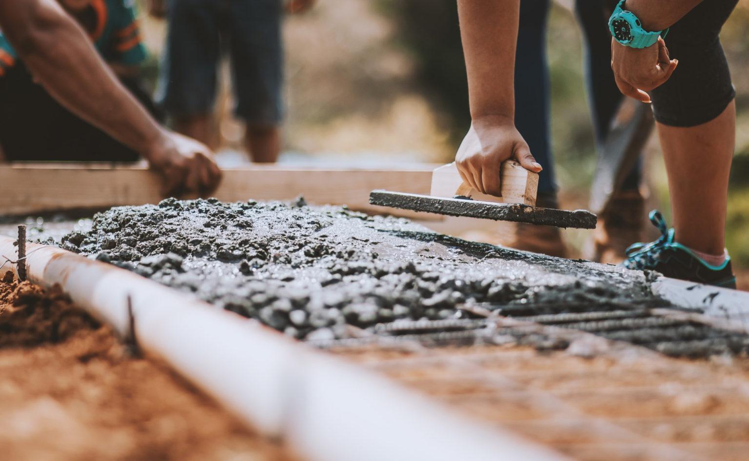Baugroup Bauen Renovieren Zement