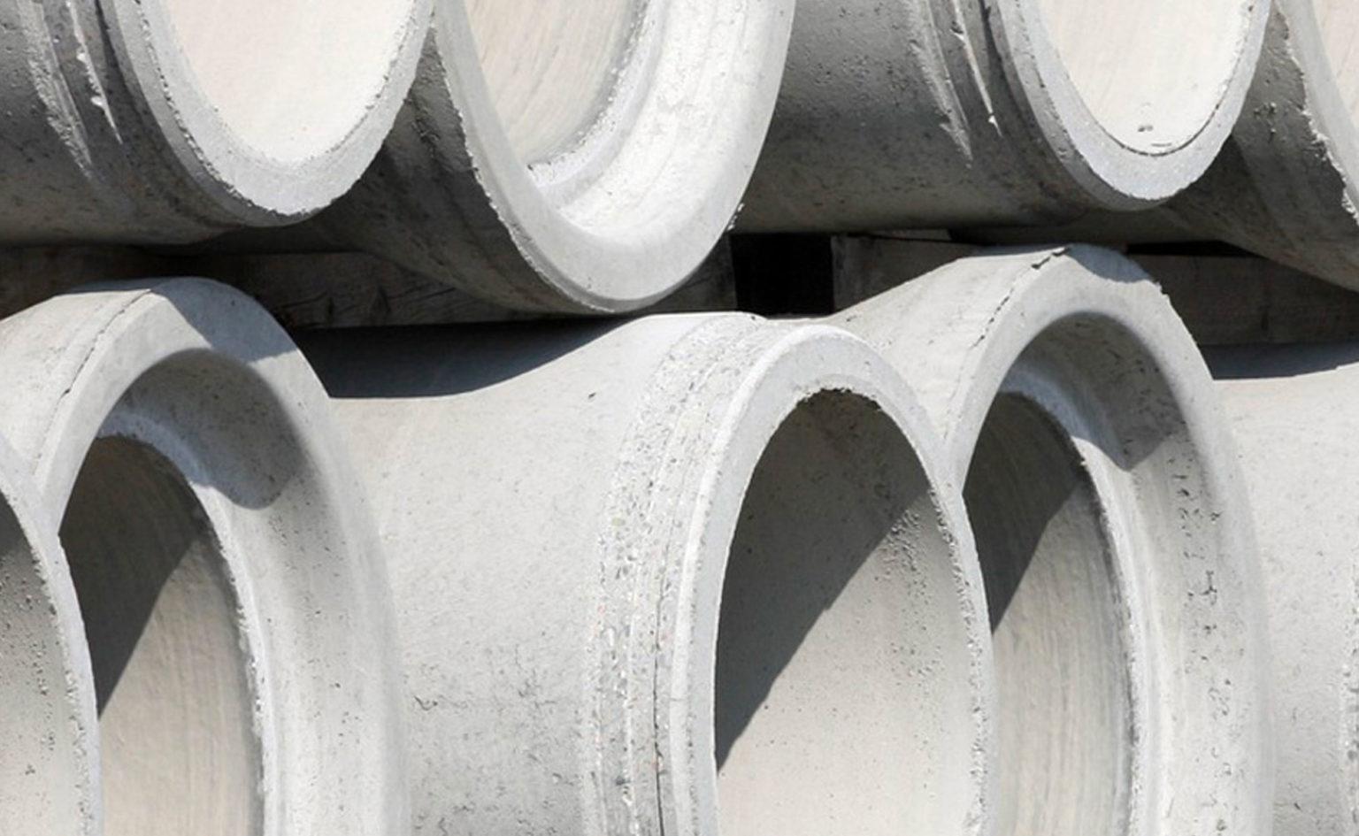 Baugroup Baumaterial Betonrohr